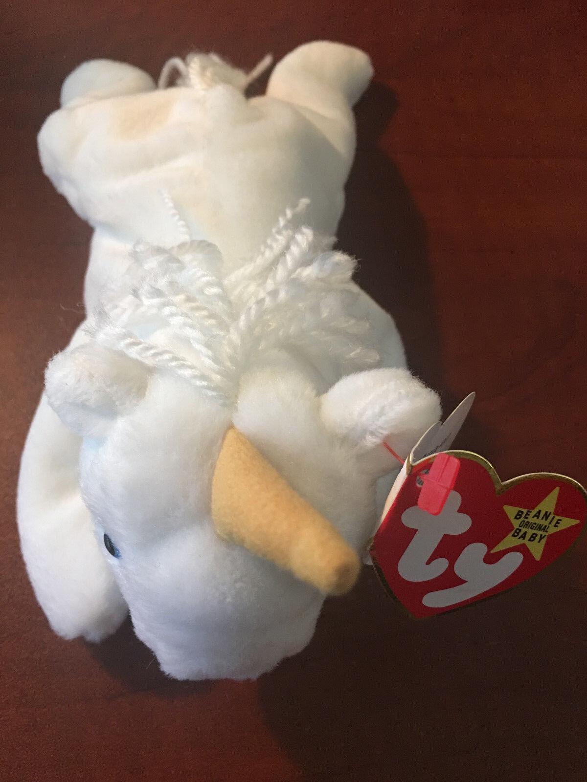 Ty Beanie Baby  MYSTIC  4007 -  TAG Error, PVC Pellets - RETIRED - RARE