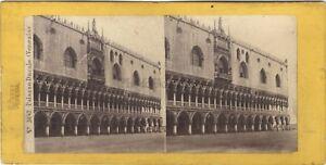 Venezia-Italia-Stereo-Carlo-Ponti-Vintage-Albumina-Ca