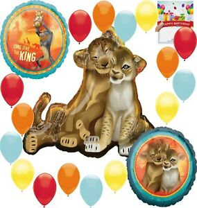 Details About Disney The Lion King Birthday Party Supplies Balloon Decoration Bundle