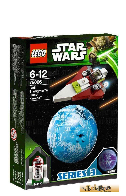 Lego Star Wars Jedi Starfighter och Kamino 75006