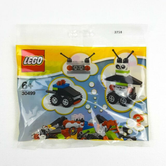 Robot New in Seaed Polybag Vehicle free builds Promotional LEGO 30499