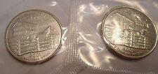 2001 P & D Kentucky Quarter Coin Set (2 Coins) *MINT CELLO*  **FREE SHIPPING**