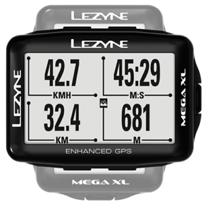 Lezyne Mega  XL GPS Caricato Pacchetto Bicicletta Computer  general high quality