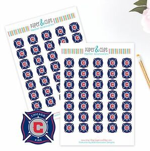 Chicago Fire Planner Stickers Perfect for all Planners like Erin Condren