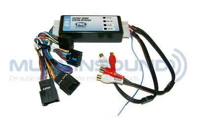 Add or Replace an Amplifier in Select GM//Chevrolet Vehicles PAC AOEM-GM21C System Interface Kit