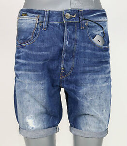 Medio Nuovo G Crotch 3142 Destroy Shorts 5773 1 2 Jeans star Evo 81630c A OnqwOPr