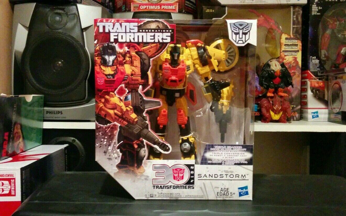 Transformers GENERACIÓN tormenta de arena y en Caja Sellada