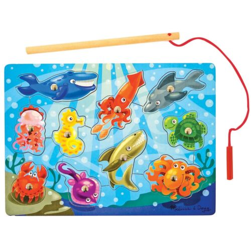 Melissa And Doug Baby Kids Childs Magnetic Fishing Game  13778