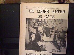e1-1-ephemera-1972-picture-article-george-seale-and-cats-polmarth-farm