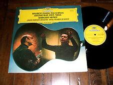 Narciso Yepes Guitar - Ohana, Ruiz-Pipo 1975 Deutsche Grammophon DGG LP NM/EX