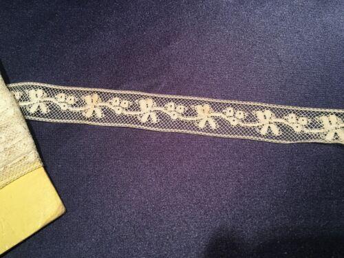 Old Antique Valenciennes Lace Trim Edging Good for Dolls Inserts Etc