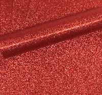10 A4 RED NON SHED SOFT TOUCH GLITTER PAPER, WHITE BACKED APPROX  150GSM