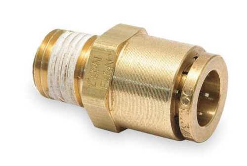EATON WEATHERHEAD 1868X10X6 Male Connector,3//8-18,5//8 In Tube Sz