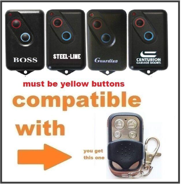 Guardian Garage Door Remote BHT4 2211-L 2 Channel Button