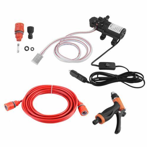 12V 100W Wasserpumpe Elektrische Autowäsche Hochdruckpumpe Membranpumpe NEU WK