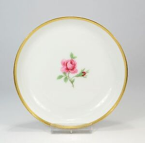 Fuerstenberg-034-Rote-Rose-034-Schaelchen-Untersetzer-11-3-cm