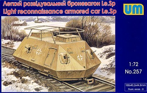# 257 Unimodel 1//72 Light Reconnaissance Armoured Car Le Sp