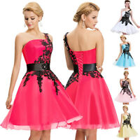 Short Semi Formal Homecoming Party Prom Dress Bridesmaid Evening Cocktail Dress