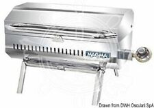 MAGMA Stainless Steel Gas Barbecue with Foldable Legs for Use On Table/Floor