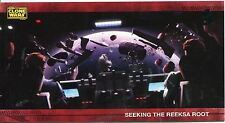 Star Wars Clone Wars Widevision Silver Stamped Parallel Base Card [500] #63