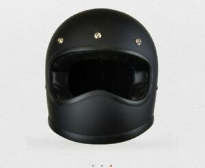 Motorcycle-Retro-Duke-X5-Black-Mat-New-Dot-helmet