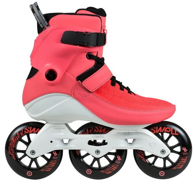 Powerslide Swell 110mm Trinity Bright  Crimson 3 Wheel Inline Fitness Speed S   with 60% off discount