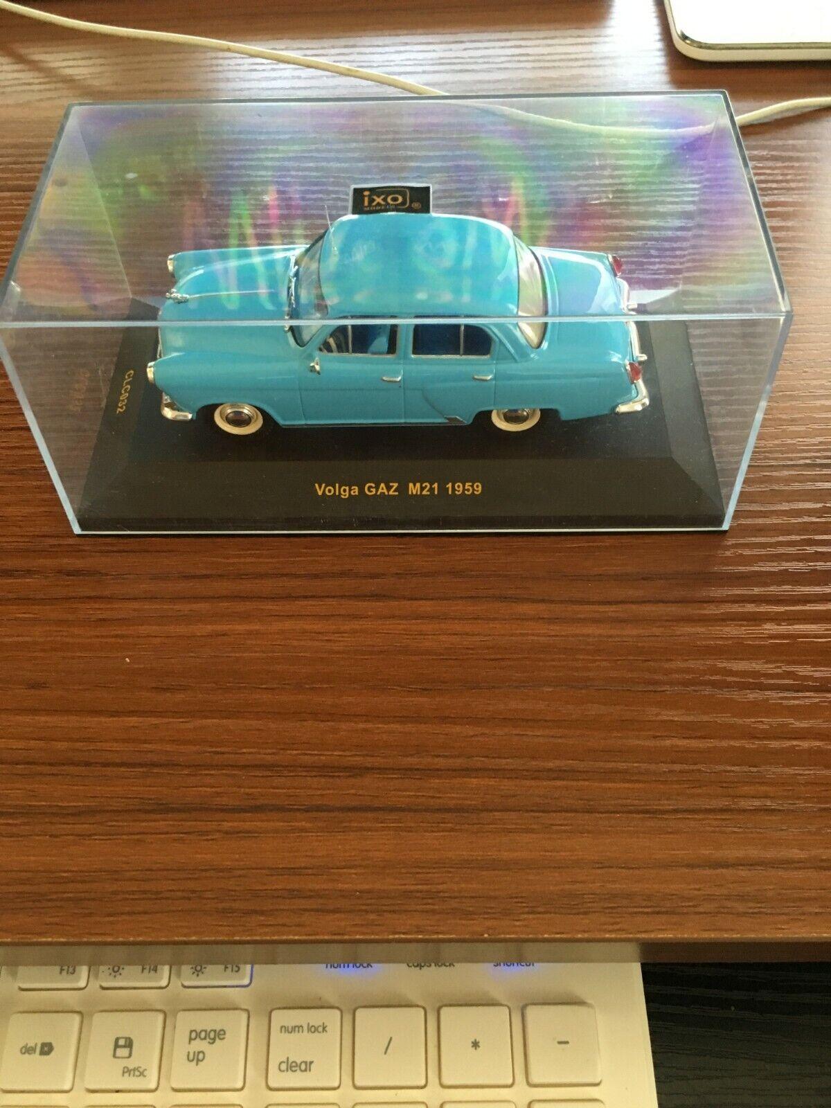 Volga GAZ M21 Luce blu 1959 IXO [CLC032]