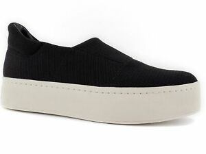 6e5533ca68c0 Vince Women s Walsh Slip-On Sneakers Black Fabric Size 6.5 M