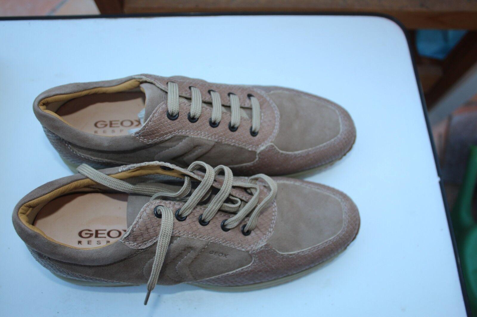 Schuhe - Geox Gr. 41 Wildleder - hellbraun    - Neuware 92dc31