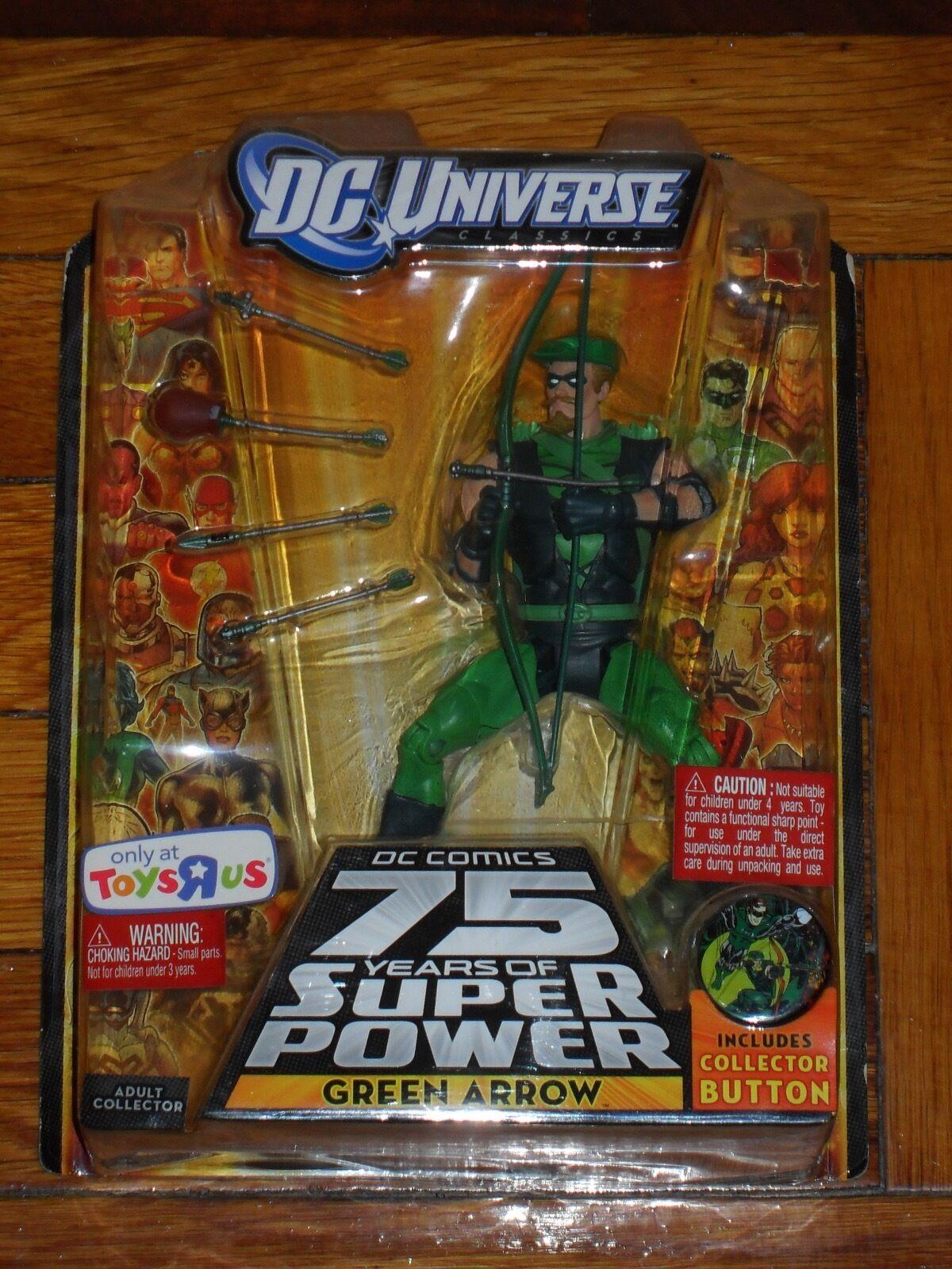 Dc - universum 75 jahre der großmächte im all - star - Grün arrow.action - figur