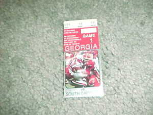 1995 Georgia Bulldogs v South Carolina Gamecocks Football ...