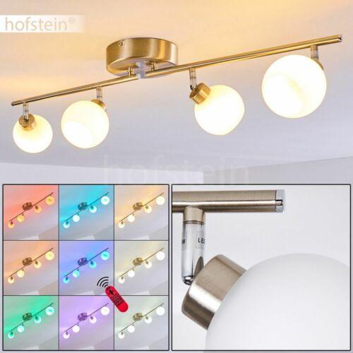 LED Decken Leuchten Farbwechsler Fernbedienung dimmbar Wohn Schlaf Zimmer Lampen