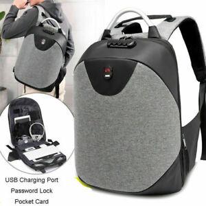 Anti-theft-Men-Womens-Laptop-Notebook-Backpack-USB-Charging-Business-School-Bag