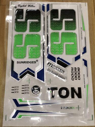 2D Sticker /& Bat Grip Free Ss ton 3-D Cricket Bat Sticker Master Dre Russell