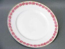 Paris Frank Haviland Limoges Pink Drop Rose Dessert Teller Plate - 1