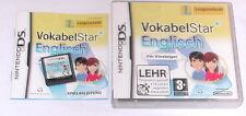 Spiel: LANGENSCHEIDT VOKABELSTAR ENGLISCH Nintendo DS + Lite + XL + 3DS 2DS