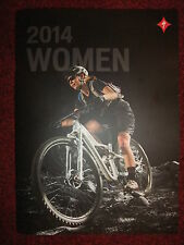 2014 SPECIALIZED WOMEN ROAD & MOUNTAIN BIKES & EQUIPMENT GLOSSY CATALOGUE ~ NEW