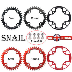 32-42T-104BCD-Single-Speed-Chain-Round-Oval-MTB-Road-Bike-Chainring-Chainset