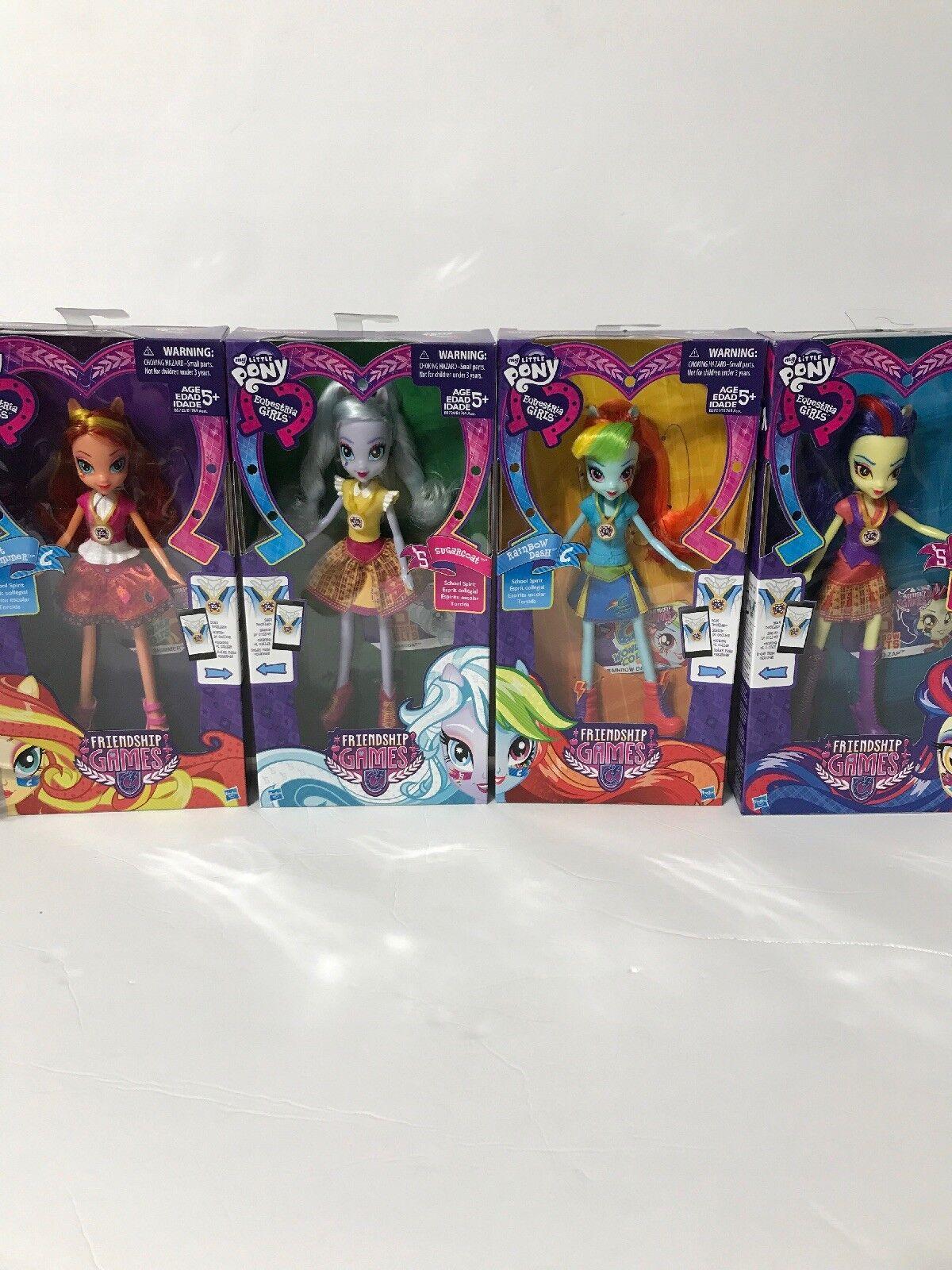 My klein Pony Equestria Girls Frienship buchstabieren Masse Of 4 Rainbow Dash Sugarcoat