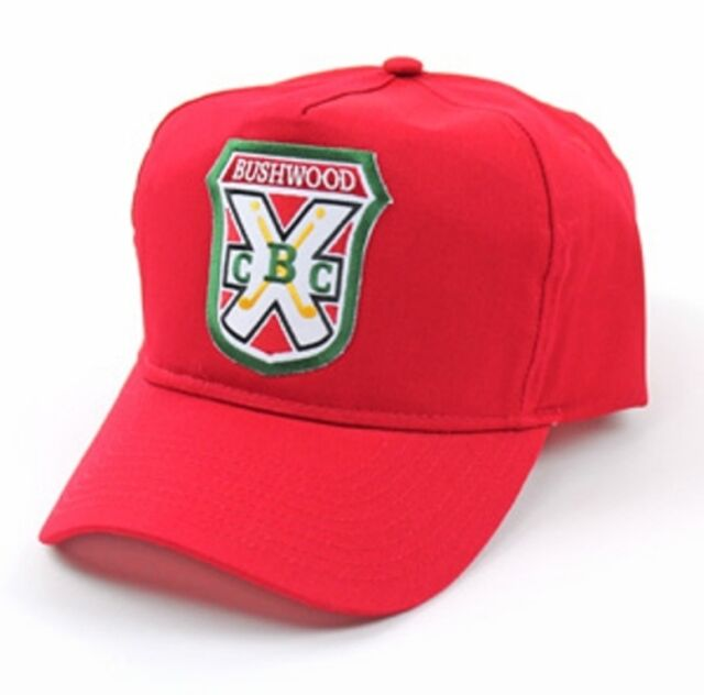 98bb8a46c0ade Bushwood Country Club Golf Cap Caddyshack Caddies Red Hat for sale ...
