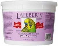Lafeber Company Parakeet Pellets Premium Daily Diet Pet Food, 5-pound , New, Fre