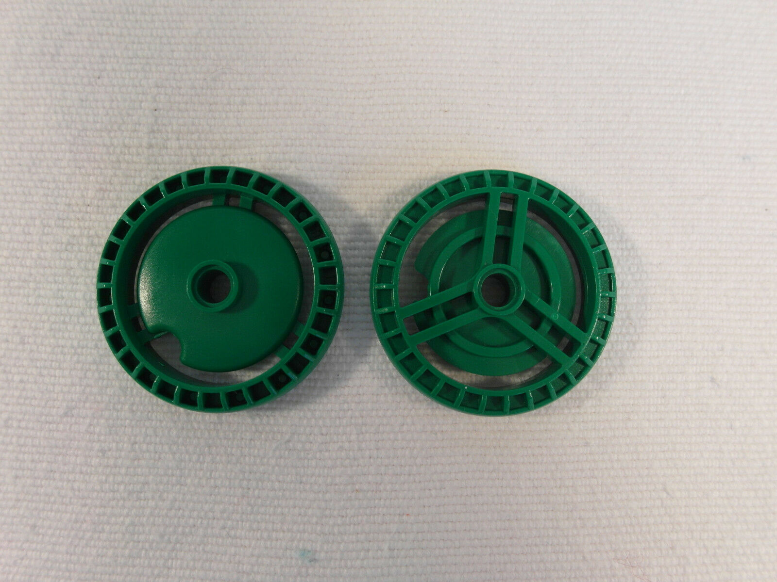 Lego 2 x Technic Disc Scheibenbremse  32439  grün 5x5