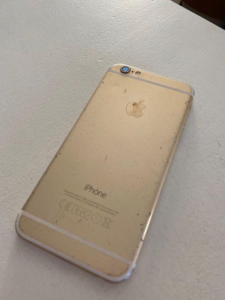 iPhone 6, 64 GB, guld