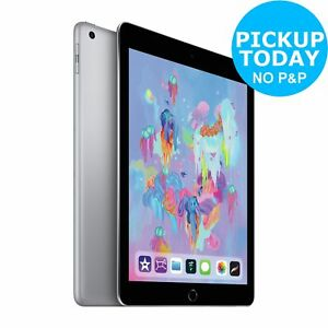 Apple iPad 2018 6th Gen 9.7 Inch WiFi 32GB - Space Grey.