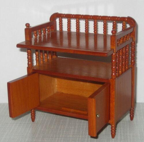 Baby cambiador cómoda wickelkommde de madera caoba Reutter 1:12