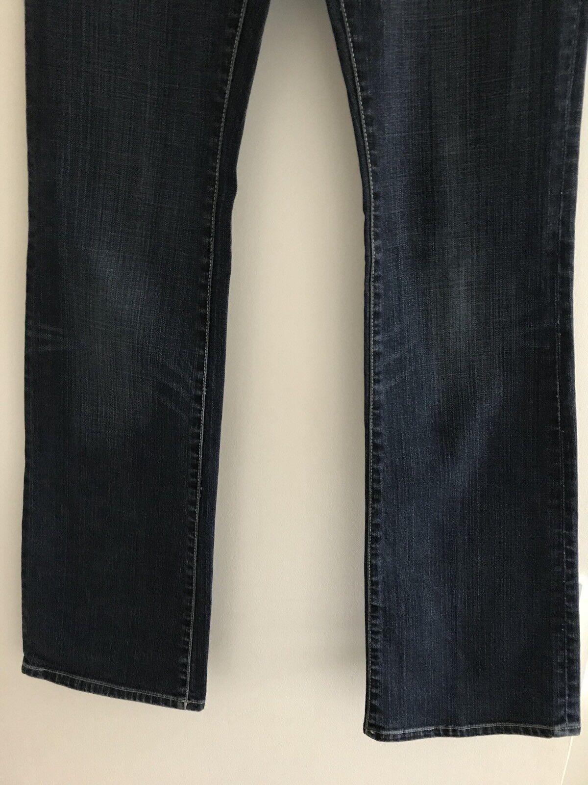 Donna Dritto 5 avviocut Gap Gap Gap tasche blu denim jeans-Taglia US 4 R 2f7b5a