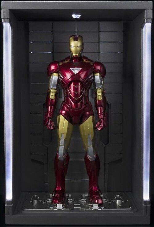 Marvel S.H. Figuarts Iron Man Mark VI & Hall Of Armor Set Action Figure