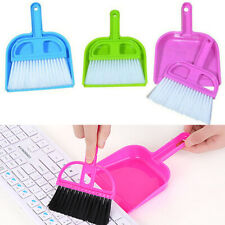 Small Whisk Type Broom Set Dust Pan Dustpan /& Brush For Cleaning Tool Outdoor jB