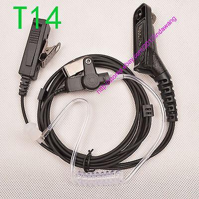 2 Wire Earphone earpiece Motorola APX4000 APX6000 APX6500 APX7000 Radio