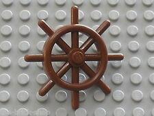LEGO PIRATES RedBrown Boat wheel 4790 / Set 10143 10210 7075 7029 6243 4768 7776